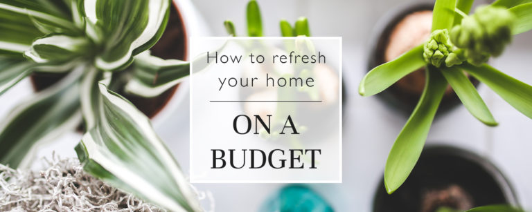 How To Refresh Your Home On A Budget thumbnail